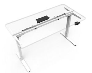Electric Height Adjustable Sit Stand Desk 45 Max Desk Width no Top