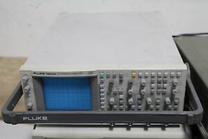 Working Fluke Pm3382a 4ch Digital Analog Storage Oscilloscope 100 Mhz 200ms s