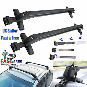 Universal Car Roof Rack Cross Bar Cargo Luggage Carrier W Anti Theft Lock System