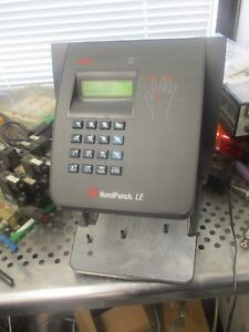 Adp Recognition Systems Model Hp 2000 Handpunch Le Time Clock
