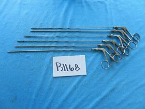 Cabot Medical Surgical Laparoscopic Graspers Hook Scissors Lot Of 6