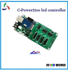 C oower2200 Single And Dual Color Led Moving Sign Controller Card Lumen Led Card