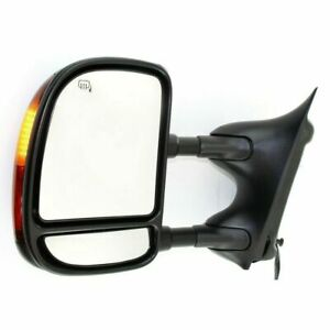 New Driver left Side Power Heated Towing Mirror For Ford F 250 Super Duty 03 07