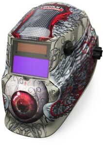 Welding Helmet Lincoln Electric Variable Shade 9 13 Auto Darkening Solar Mask