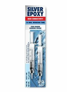 Mg Chemicals Silver Epoxy Adhesive High Conductivity 10 Min Working Time 14