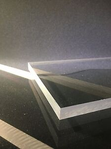 3 8 Thick Clear Polycarbonate polycarb Sheet Priced Per Foot Cut To Size