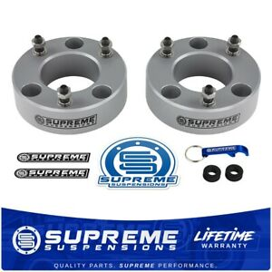 2 Leveling Lift Kit For 2004 2020 Ford F150 2wd 4wd Pro Billet Silver F 150