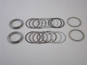 1999 newer Gm 8 6 Chevy 10 Bolt Rearend Carrier Shims Rms Super Shim Kit new