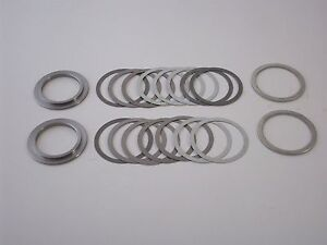1972 1998 Gm 8 5 Chevy 10 Bolt Rearend Carrier Shims Rms Super Shim Kit New