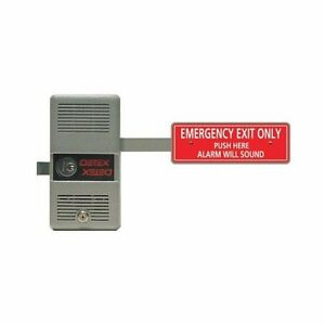 Detex Alarm Panic Exit Control Lock Short Bar Emergency Exit Ecl 230d