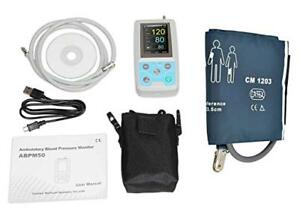 24 Hours Arm Ambulatory Holter Blood Pressure Monitor With Oximeter Usa Onsale