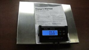 660lb 660pound Stamps com Stainless Steel Digital Lcd Postal Scale
