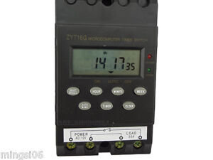 Misol 110v Timer Switch Timer Controller Lcd Display programmable 25a