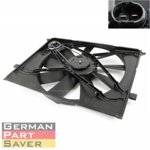 Radiator Cooling Fan W Motor For Mercedes Benz Cl500 Cl55 S430 S500 2205000093
