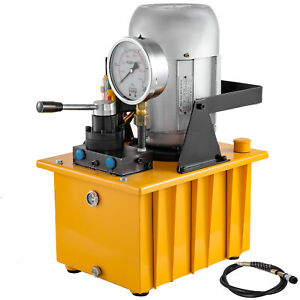 Electric Driven Hydraulic Pump Double Acting 10000psi 8l 110v 60hz Great