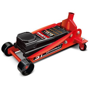 Powerbuilt 3 Ton Heavy Duty Floor Jack Garage Hydraulic Jack 647593