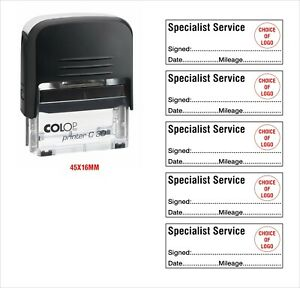 Colop Self Inking Rubber Stamp Specialist Service Kia Seat More View 2 5 Stamps