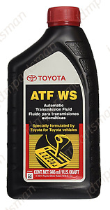Genuine Toyota Ws Atf Automatic Transmission Fluid 1 Qt Fits Toyota And Lexus