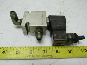 Compact Controls 220816 R9 Electric Solenoid Hydraulic Valve 2 Port