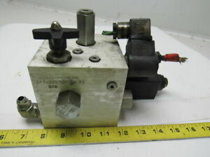 Compact Controls Cp11529 120ah R1 Hydraulic Valve Block W electric Solenoids