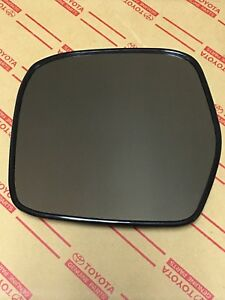 Genuine Oem Toyota Land Cruiser Heated Side View Mirror Glass Left 1998 2005