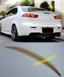 Factory Style Spoiler Wing Abs For 2008 2017 Mitsubishi Lancer Spoilers Unpaint