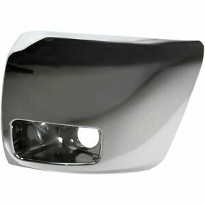 New Gm1004156 Front Lh Side Bumper End For Chevrolet Silverado 1500 2012 2013