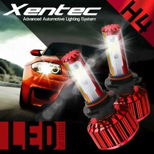 Xentec Led Hid Headlight Conversion Kit H4 9003 6000k For 2000 2004 Ford Focus