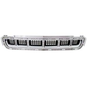 New Gm1036158 Bumper Cover Grille For Cadillac Xts 2013 2014