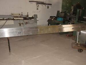 Mgs Stainless Steel Lug Conveyor W Sprocket Chain About 12 Long 8 Wide Prod