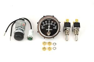 Gauge And Switch Kit For A Lincoln Sa 200 Blackface Bw789 ke