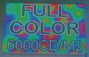 Beautifuled Led Sign Full Color Rgb 6000cd m2 Super Bright Video Programmable