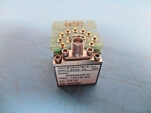 Hp Agilent Microsource Inc Mc00204 269 02 Freq 1 95 3 65 Ghz
