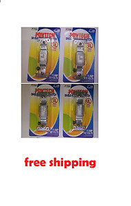 24 X Single pole Wall Switch Electrical Light Switch 15 Amp 125volts Indoor Home
