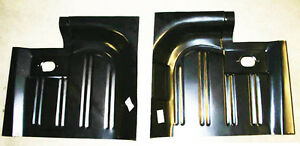 New 1965 1970 Ford Mustang Rear Floor Pans Left Right Side Pair Set