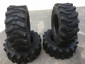 4 New Camso Sks532 12 16 5 Skid Steer Tires For Bobcat 12x16 5 12 Ply