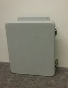 Robroy Industries J1008hll Type 4x Non metallic Fiberglass Electrical Enclosure