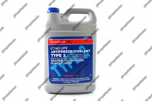 Genuine Honda Parts Ol999 9011 Blue Type 2 Coolant 1 Gallon Bottle