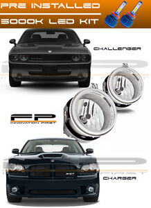 Led 2006 2009 Dodge Charger 2008 2010 Challenger Replacement Fog Lights Housing