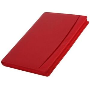 Filofax Finsbury Trifold Folder Red