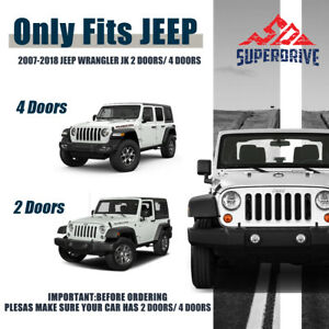 For 2016 2018 Toyota Tacoma Black Bull Bar Front Bumper Skid Plate Grille Guar