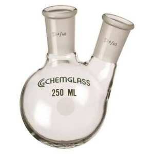 Round Bottom Flask 250ml Chemglass Cg 1520 04
