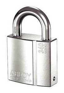 Abloy Pl340 25 ka Padlock 1 In Shackle H High Security