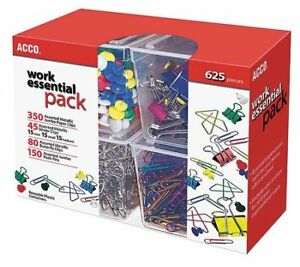 Paper Clip clamp Pack assorted Acco Acc76233