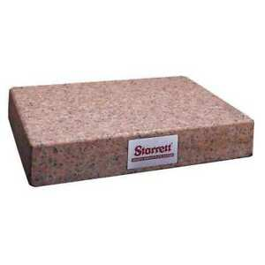 Granite Surface Plate pink aa 12x18x4