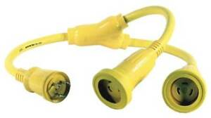 Hubbell Wiring Device kellems Hbl64cm56 Marine Y Adapter
