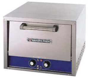 25 X 23 X 17 Single Deck Electric Deck Oven Bakers Pride P18s