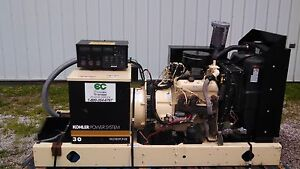 Kohler 30 Kw Natural Gas Generator With Switch
