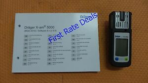 Draeger X am 5000 Multi Gas Detector Instrument 8320000 Drager Personal Monitor