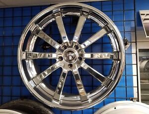 22 Dub 2 piece Chrome Wheels Range Rover Hse Sport Super Charged